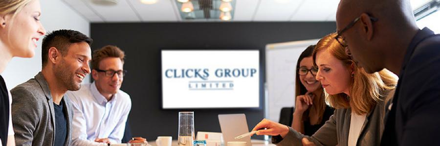 Clicks Group profile banner