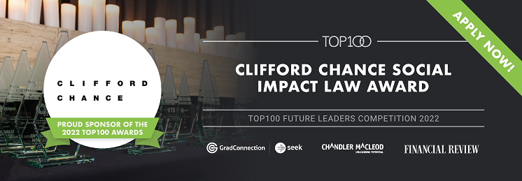 Clifford Chance Social Impact, Law Award profile banner profile banner