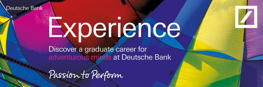 Deutsche Bank Analyst Internship Programme – Global Markets profile banner profile banner