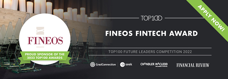 FINEOS Fintech Award profile banner profile banner