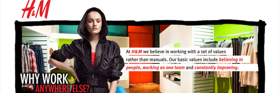 H&M profile banner