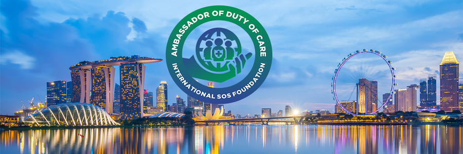 International SOS profile banner