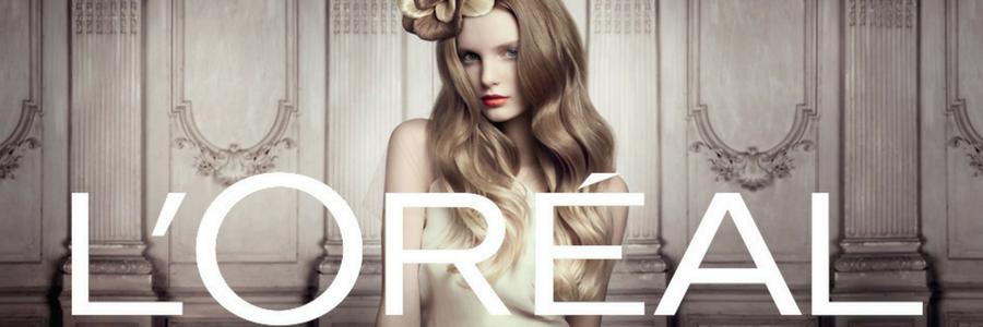 L'OREAL profile banner