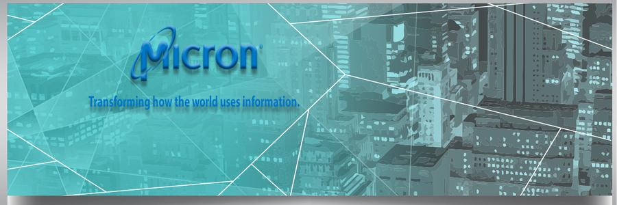 Micron profile banner
