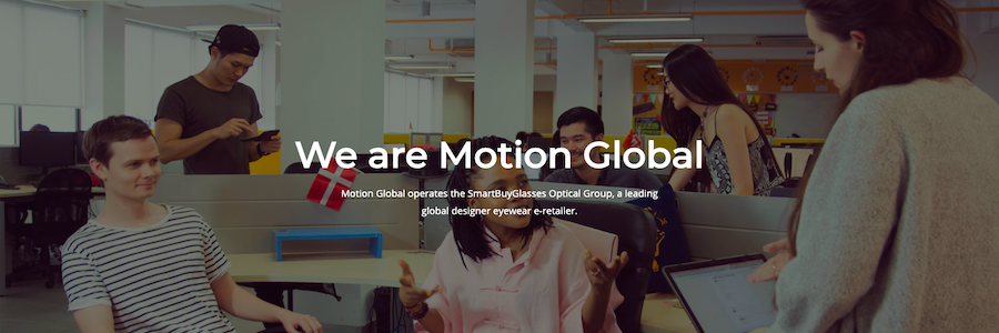 Motion Global - China Marketing Trainee profile banner profile banner