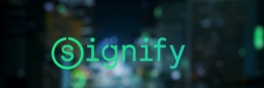 Signify profile banner