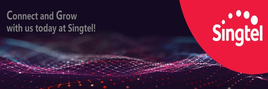 Singtel profile banner