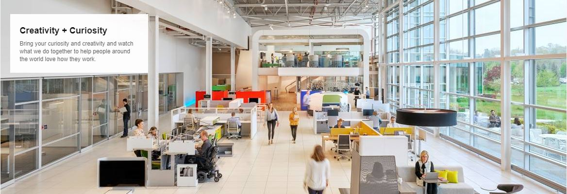 Steelcase Interior Design Intern