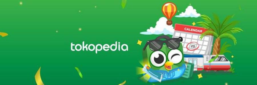 Tokopedia profile banner