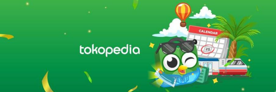 Tokopedia profile banner
