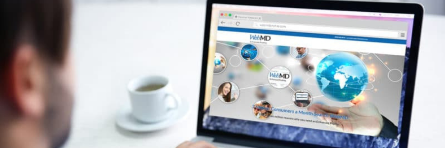 WebMD profile banner