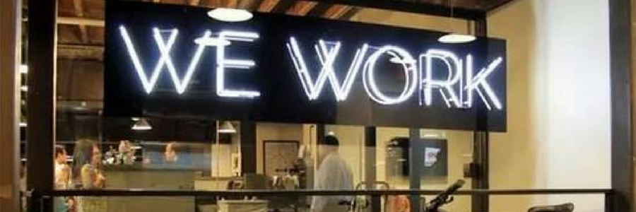 WeWork profile banner