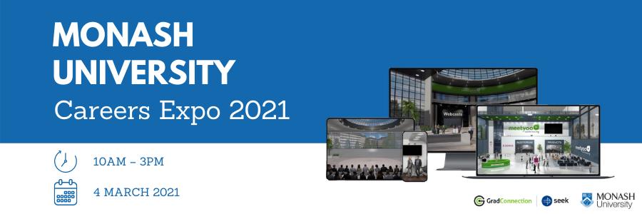 Monash University Careers Expo profile banner profile banner