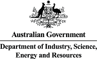 Department of Industry, Science, Energy and Resources logo