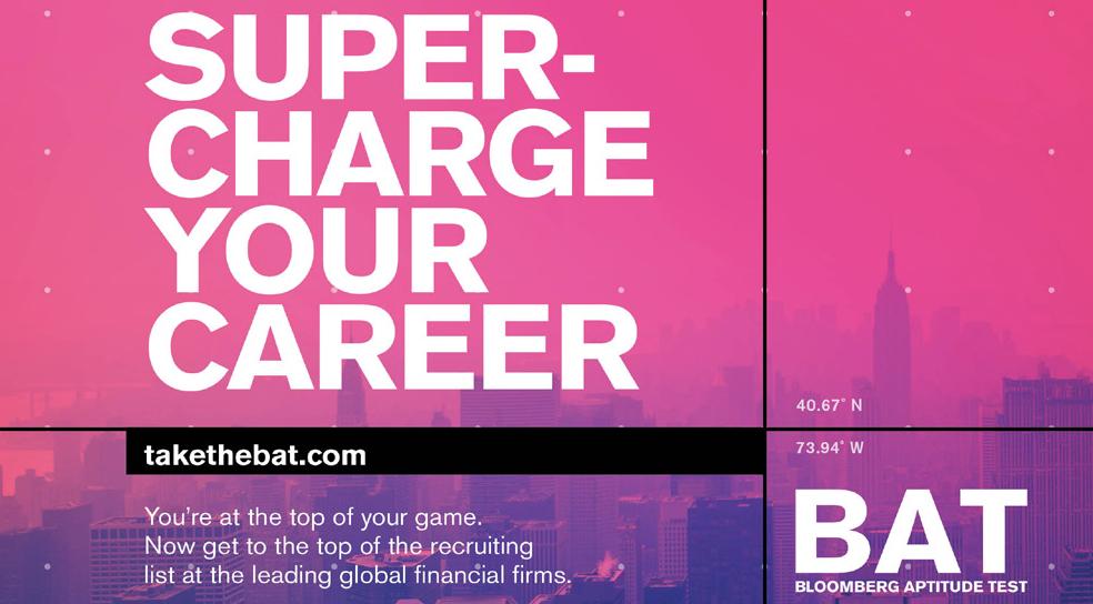 Bloomberg Aptitude Test profile banner