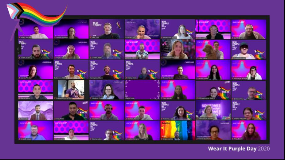Deloitte Purple Day