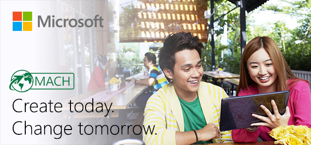 Microsoft profile banner