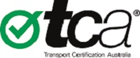 Transport Certification Australia (TCA) logo