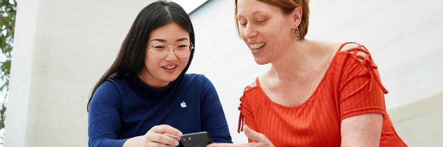 Apple profile banner