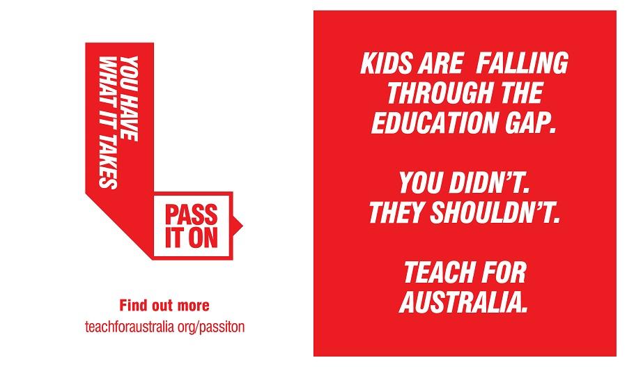 Teach For Australia profile banner