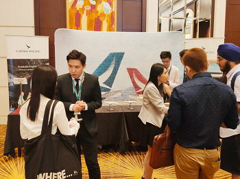 first local university student career fair in Hong Kong