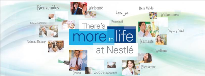 Nestlé profile banner