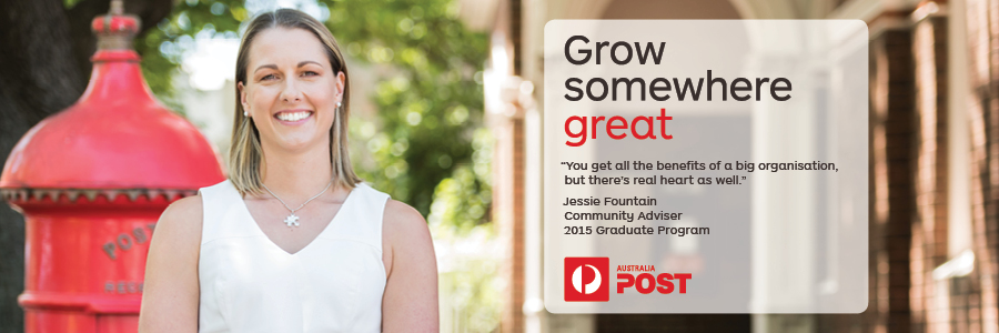 Australia Post profile banner