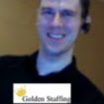 Golden Staffing logo