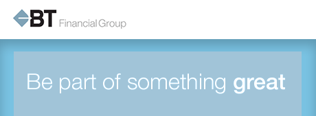 BT Financial Group profile banner