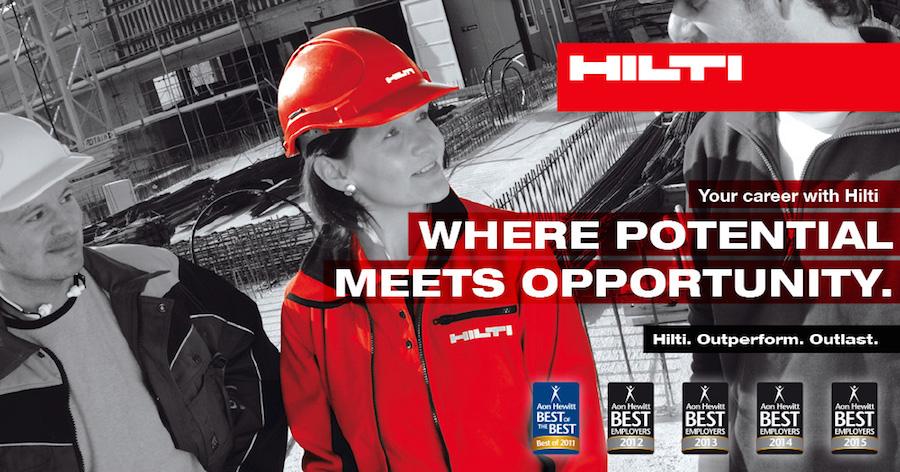 Hilti profile banner