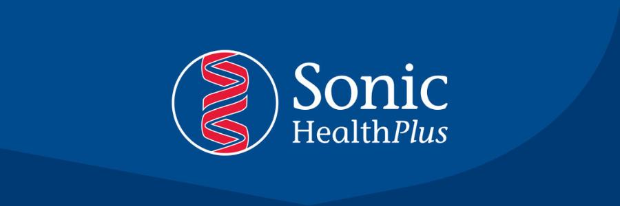 Sonic HealthPlus profile banner