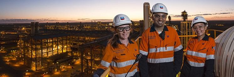 Chevron Australia profile banner