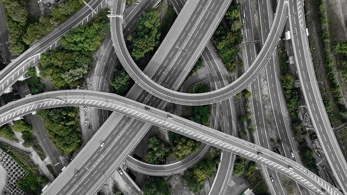 Complex road