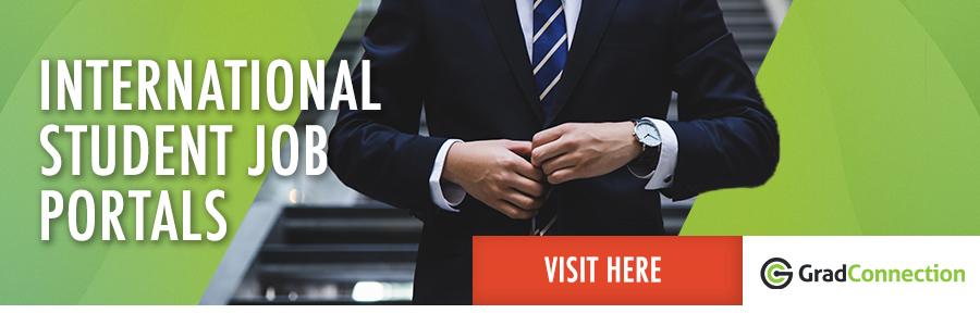 GradConnection International Student Job Portal profile banner