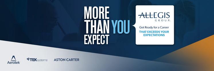 Allegis Group Aston Carter Recruitment Internship