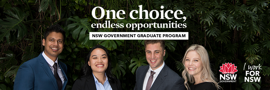 NSW Government profile banner