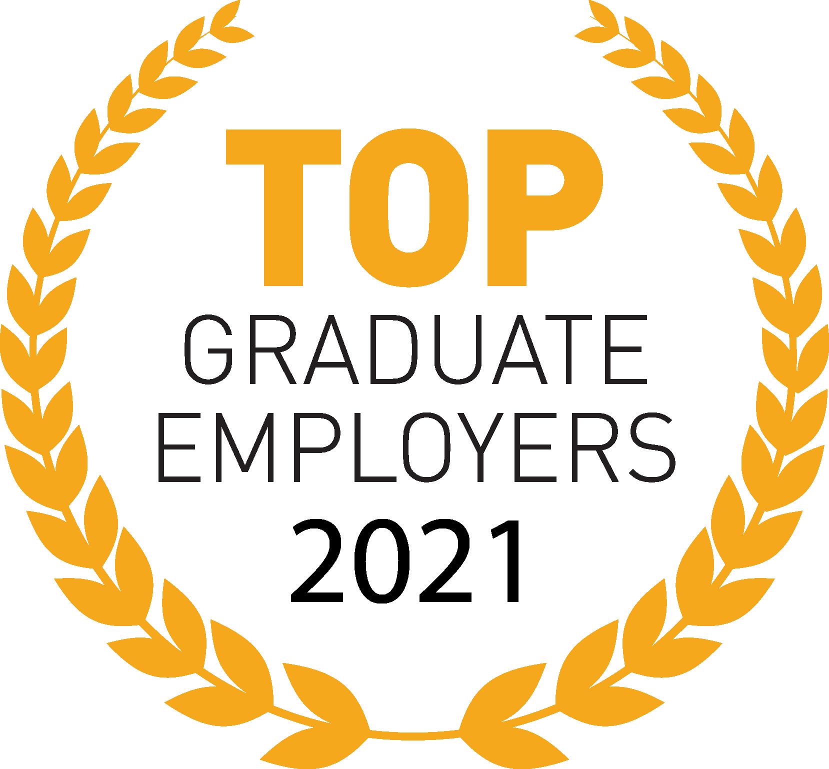 Top Graduate Employer 2021 Award