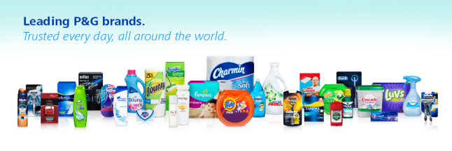 Procter & Gamble profile banner
