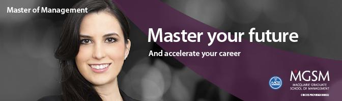 Macquarie Graduate School of Management profile banner