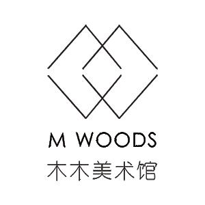 M WOODS logo