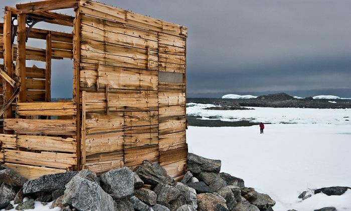 Dumont D'Urville Station, Antarctica. Credit: Phillip Danze.