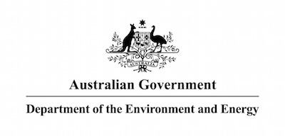Department of the Environment and Energy logo