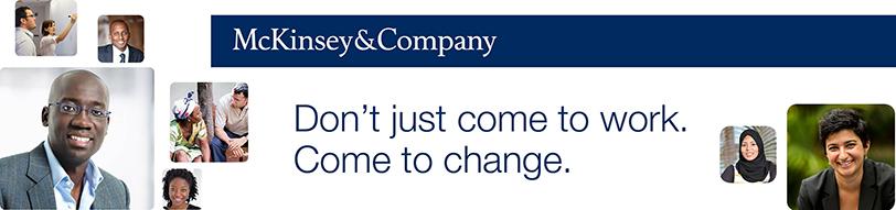 McKinsey & Company profile banner