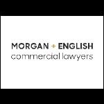 Morgan + English Commercial Lawyers logo