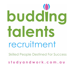 Budding Talents Recruitment logo