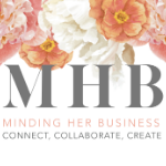 MINDING HER BUSINESS logo