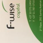 F-Wise Capital (Pty) Ltd logo