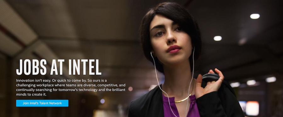 Intel profile banner
