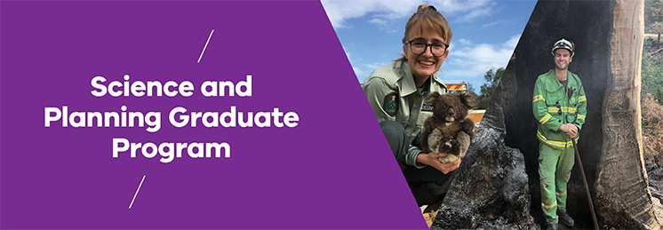 Department of Environment, Land, Water and Planning and Department of Jobs, Precincts and Regions – Science and Planning Graduate Program profile banner
