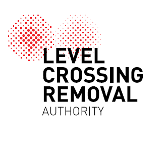 Level Crossing Removal Authority (LXRA) logo